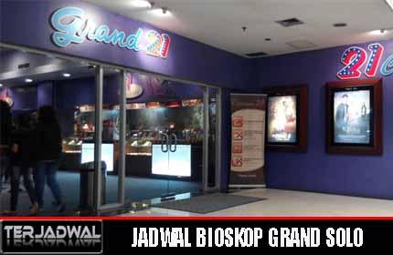 JADWAL BIOSKOP GRAND SOLO