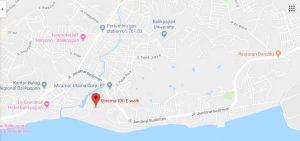 Peta Lokasi Bioskop E-WALK XXI